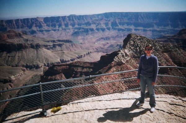 Travellers diario usa 2008 grand canyon national park for Grand canyon north rim mappa della cabina